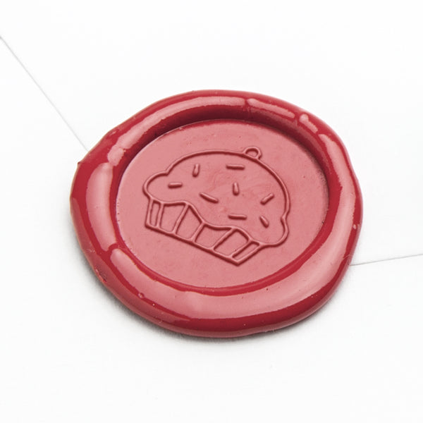 Wax Seal - Cupcake with Sprinkles