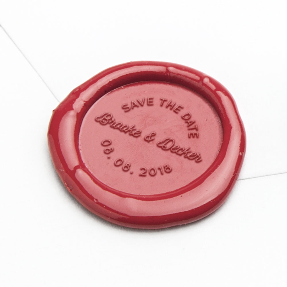 Wax Seal - Brooke Save the Date