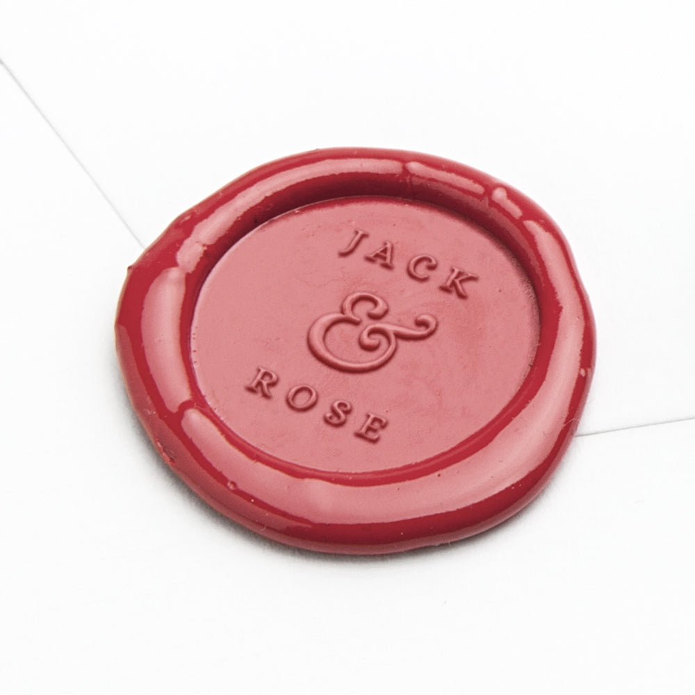 Wax Seal - Jack & Rose