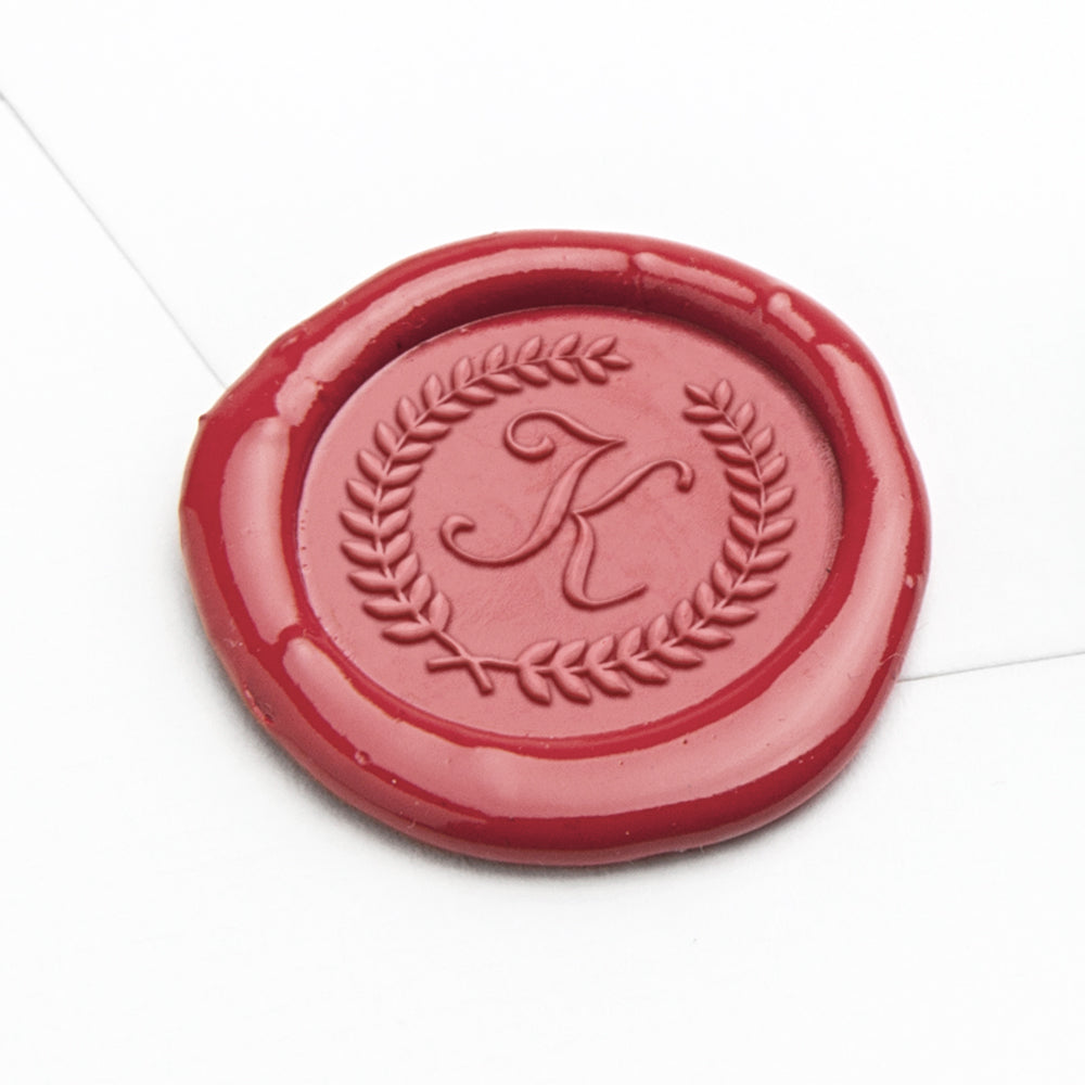Wax Seal - Laurel Initial