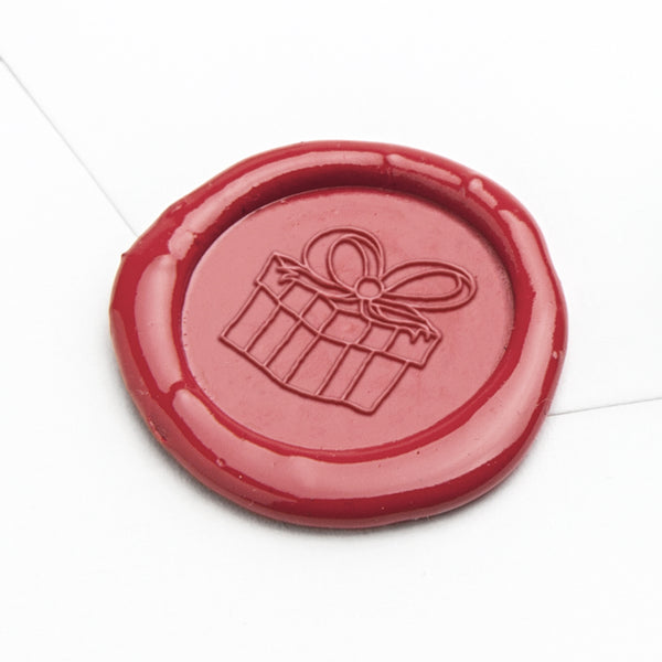 Wax Seal Stamp - Wrapped Gift