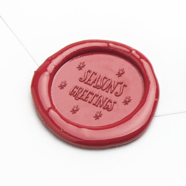 Wax Seal Stamp - Season's Greetings