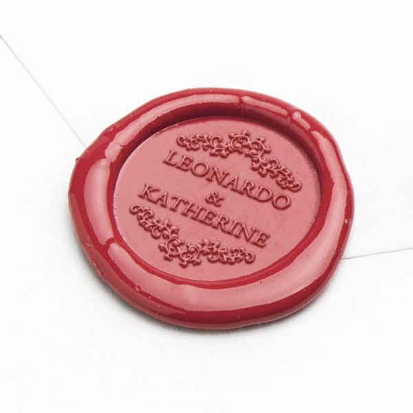 Wax Seal - Elegant Borders