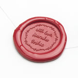 Wax Seal - Wreath With Love