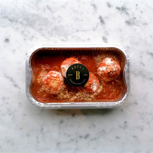 2 portions Homemade Meatballs