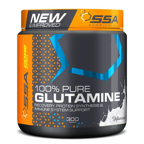 100% Pure Glutamine [300g] Glutamine SSA Supplements