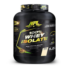 Load image into Gallery viewer, 100% Whey Isolate [1.5kg] Whey Isolate NPL