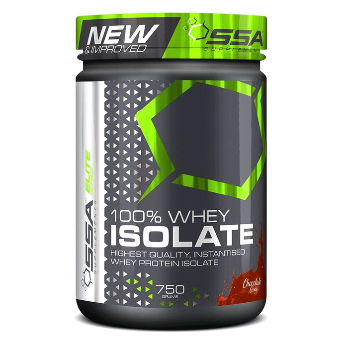 100% Whey Isolate [750g] Whey Isolate SSA Supplements Chocolate Cookie