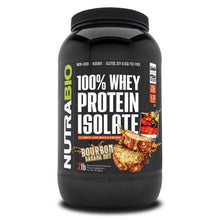 Load image into Gallery viewer, 100% Whey Protein Isolate [907g] Whey Isolate NutraBio Bourbon Banana Nut