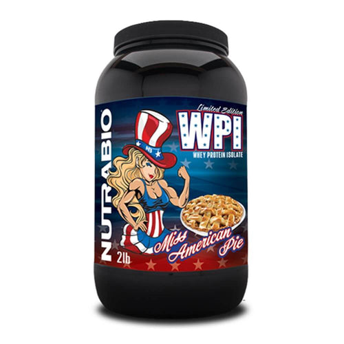 100% Whey Protein Isolate [907g] Whey Isolate NutraBio Miss American Pie