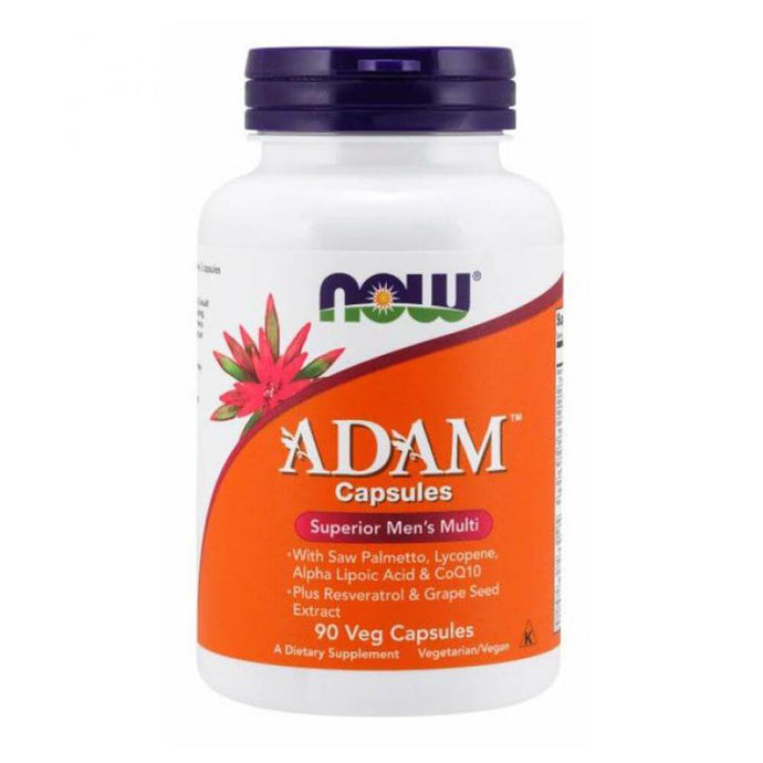 Adam Men's Multi Vit [90 Caps] Multivitamin NOW Foods
