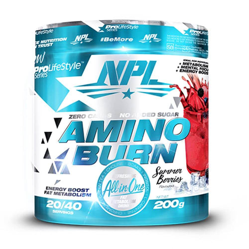 Amino Burn [200g] Stimulant Based Amino NPL Summer Beries
