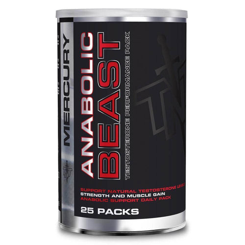 Anabolic Beast [25 Packs] Testosterone Booster TNT Mercury