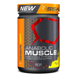 Anabolic Muscle Stack [905g] Mass Gainer SSA Supplements Banana Split