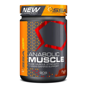 Anabolic Muscle Stack [905g] Mass Gainer SSA Supplements Chocolate Mousse