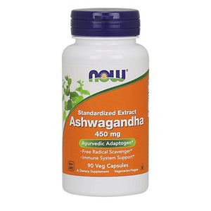 Ashwagandha 450mg [90 Caps] Superfood NOW Foods