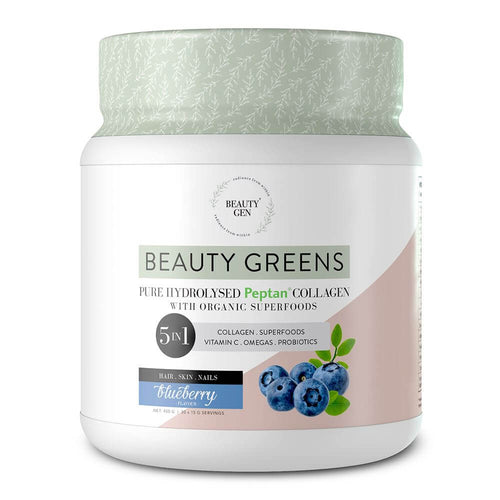 Beauty Greens [450g] - Blueberry Superfood Beauty Gen
