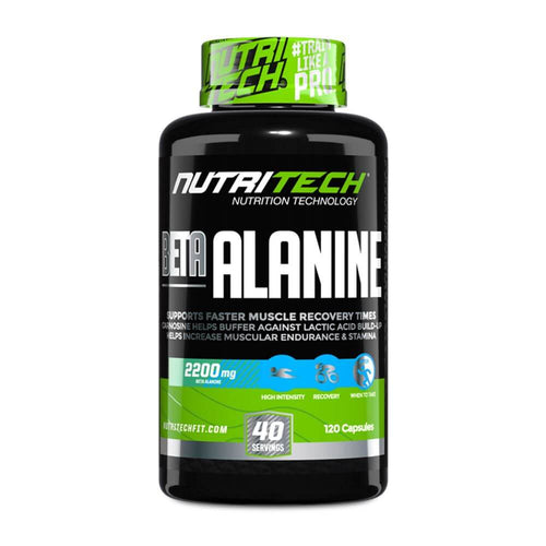 Beta Alanine [120 Caps] Beta-Alanine Nutritech