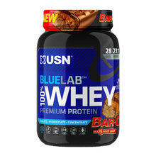 Load image into Gallery viewer, BlueLab 100% Premium Whey [908g] Whey Blend USN Bar One