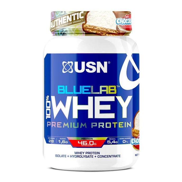 BlueLab 100% Premium Whey [908g] Whey Blend USN Chocolate Log
