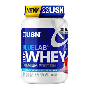 BlueLab 100% Premium Whey [908g] Whey Blend USN Strawberry