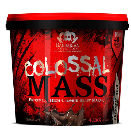 Colossal Mass [4.2kg] Mass Gainer Barbarian Nutrition Chocolate