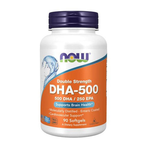 DHA-500 [90 Gels] Omegas NOW Foods
