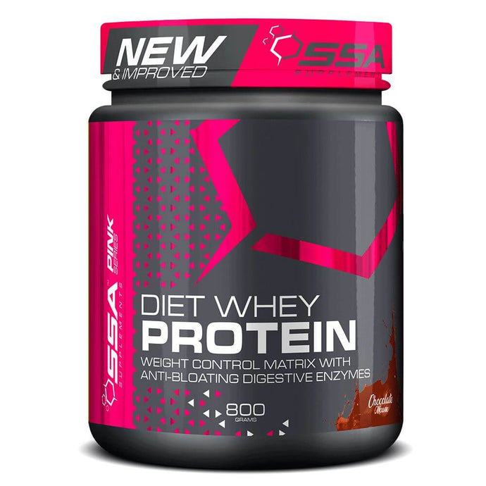 Diet Whey Protein [800g] Whey Blend SSA Supplements Chocolate Mousse