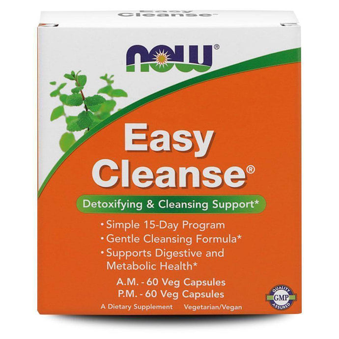 Easy Cleanse Kit [120 Caps] General Health NOW Foods