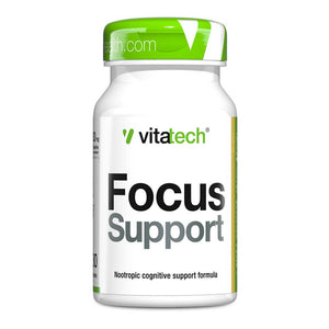 Focus Support [30 Tabs] Nootropic Vitatech