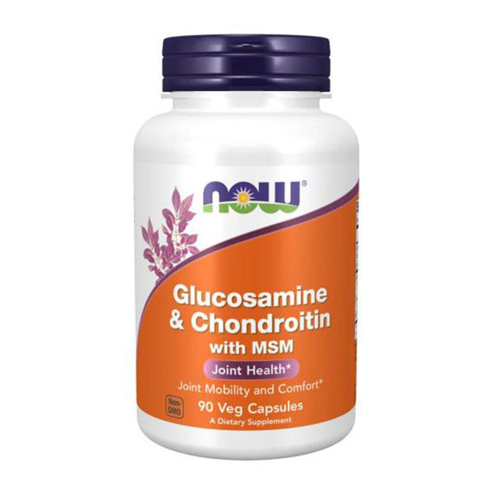Glucosamine + Chondroitin [90 Caps] Joint Health NOW Foods