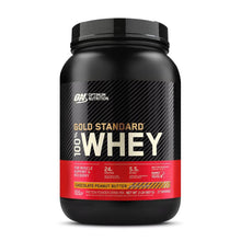 Load image into Gallery viewer, Gold Standard 100% Whey [900g] Whey Blend Optimum Nutrition Chocolate Peanut Butter
