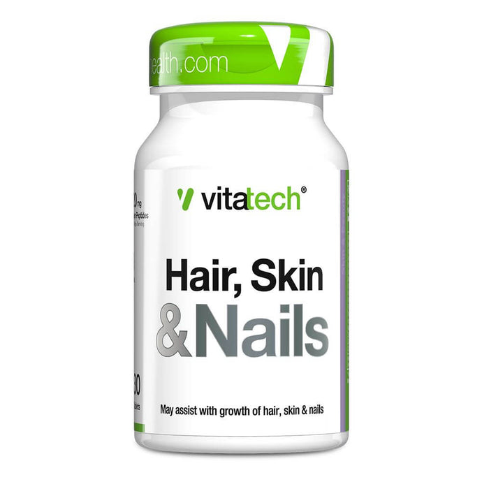 Hair, Skin & Nails [30 Tabs] Hair, Skin & Nails Vitatech