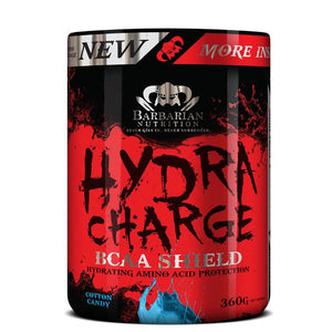 Hydra Charge [360g] Amino Blend Barbarian Nutrition Cotton Candy