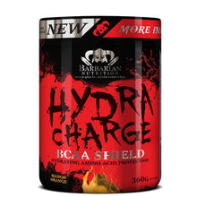 Load image into Gallery viewer, Hydra Charge [360g] Amino Blend Barbarian Nutrition Mango Orange