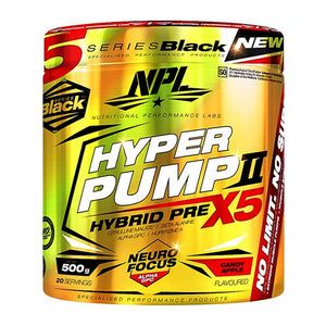 Hyper Pump [500g] Stimulant Based Pre-Workout NPL