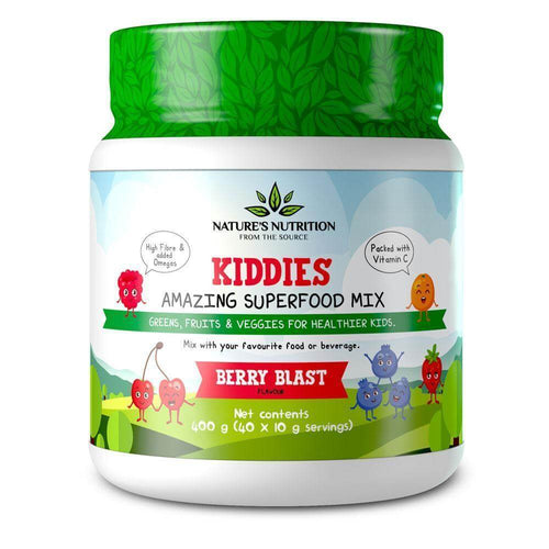 Kiddies Amaing Superfood Mix [400g] Superfood Natures Nutrition Berry