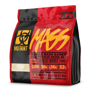 Mass [2.27kg] Mass Gainer Mutant Vanilla Ice Cream