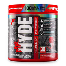 Load image into Gallery viewer, Mr Hyde Signature [216g] Stimulant Based Pre-Workout ProSupps Lollipop Punch