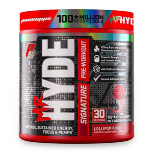 Mr Hyde Signature [216g] Stimulant Based Pre-Workout ProSupps Lollipop Punch