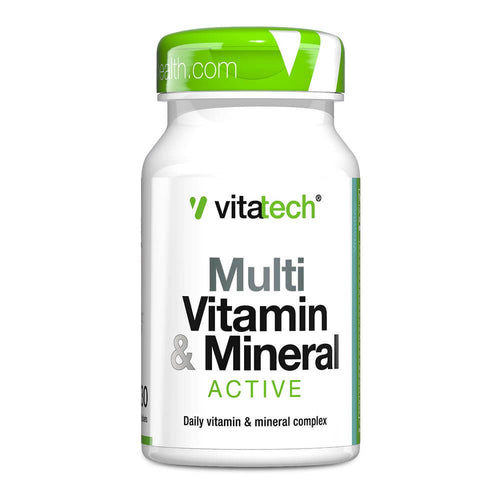 Multi Vitamin & Mineral - Active [30 Tabs] Multivitamin Vitatech