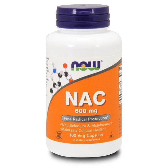 NAC 600mg [100 Caps] General Health NOW Foods