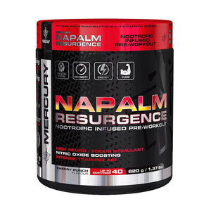 Napalm Resurgence [620g] Nootropic Pre-Workout TNT Mercury