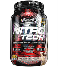 Load image into Gallery viewer, Nitro-Tech [900g] Whey Blend MuscleTech Cookies & Cream