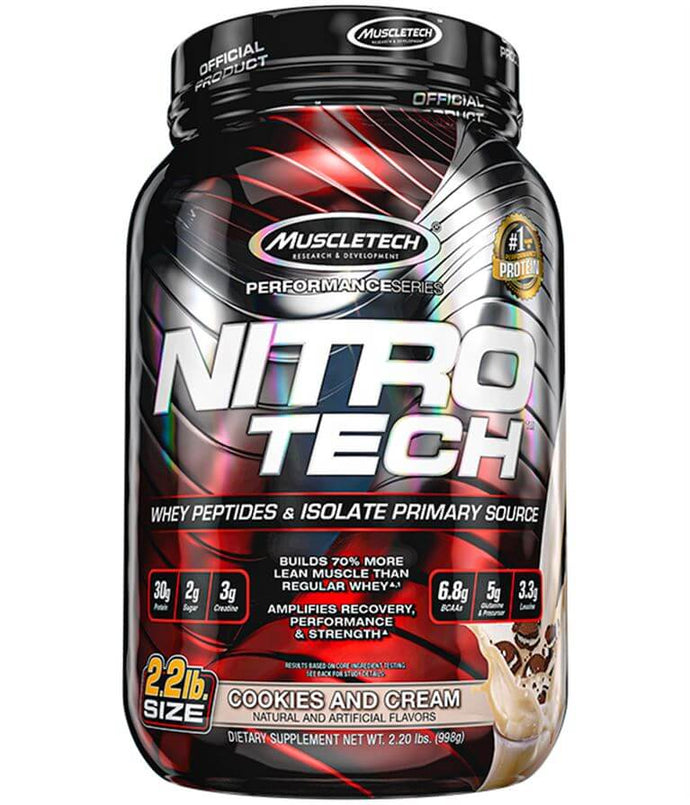 Nitro-Tech [900g] Whey Blend MuscleTech Cookies & Cream