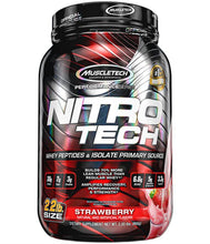 Load image into Gallery viewer, Nitro-Tech [900g] Whey Blend MuscleTech Strawberry