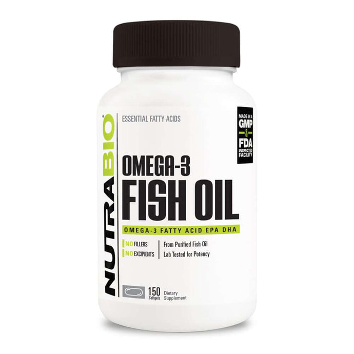 Omega 3 Fish Oil [150 Gels] Omegas NutraBio