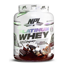 Load image into Gallery viewer, Platinum Whey [908g] Whey Blend NPL Cookies & Cream