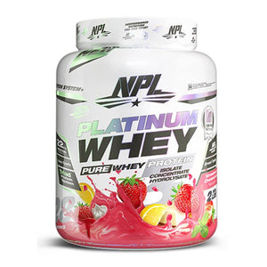 Platinum Whey [908g] Whey Blend NPL Strawberry Cheesecake