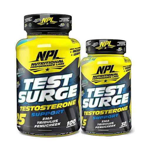 Test Surge [100 + 30 Caps] Testosterone Booster NPL